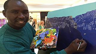 Rwandan landscape artist making waves in South Africa