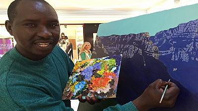 Rwandan landscape artist making waves in South Africa
