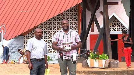 Cameroonian entrepreneurs see potential in drones, plan to build their own