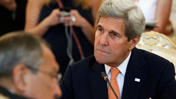 Kerry, Poutine, May font part de leur horreur après l'attentat de Nice