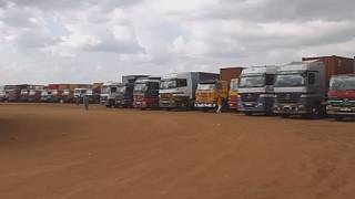 Cargo truck drivers stuck between Uganda and South Sudan border