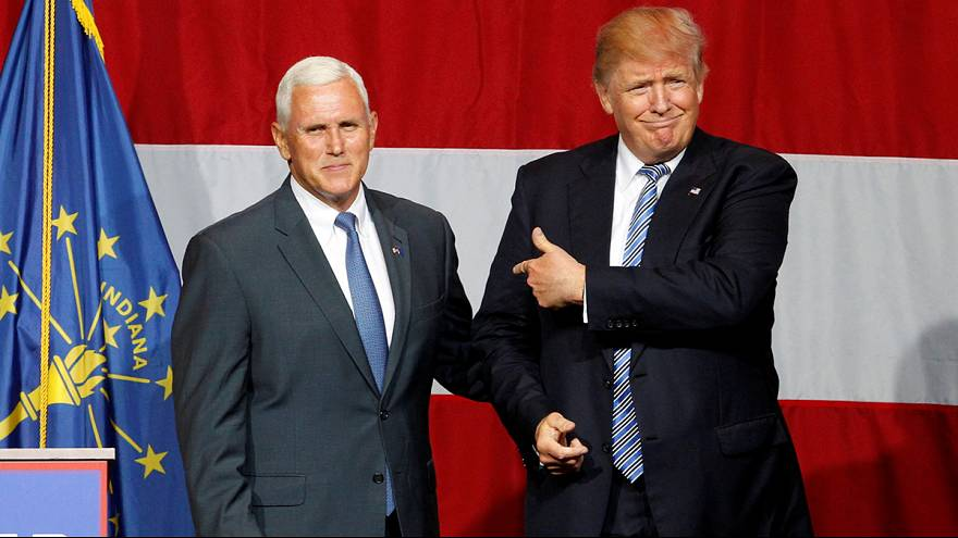 Az ultrakonzeratív nézeteiről ismert Mike Pence-t jelölte alelnökének az amerikai konzervatív párt valószínű elnökjelöltje, Donald Trump.