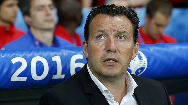 Вильмотс уволен с поста главного тренера сборной Бельгии
