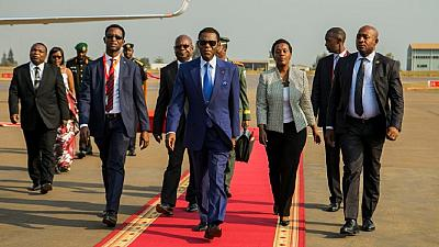 [Photos] Rwanda rolls out red carpet for African leaders arriving for AU Summit