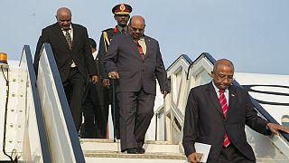 Sudanese president Al-Bashir arrives in Rwanda for AU Summit