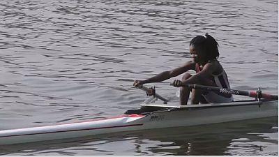 Claire Ayivon à Rio pour défendre les couleurs du Togo en Aviron
