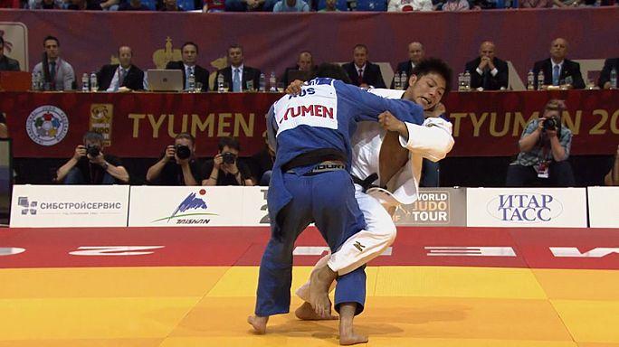 اليابان تتألق في اليوم الأول من بطولة الغران شلام للجيدو بروسيا