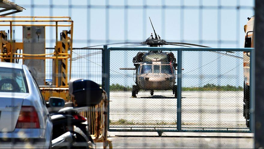 Nyolc török férfit állítottak meg Görögországban