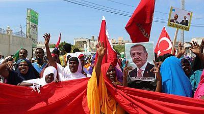 Manifestation en soutien au régime turc