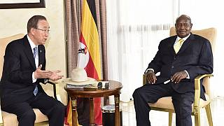 Uganda against South Sudan arms embargo as Museveni meets UN chief