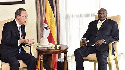 Uganda against South Sudan arms embargo as Museveni meets UN chief
