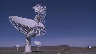 South Africa's super radio telescope reveals distant galaxies
