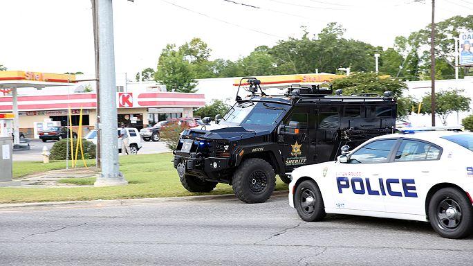 Rendőrökre lőttek Baton Rouge-ban, hárman meghaltak