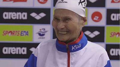 L'histoire fabuleuse d'une nageuse centenaire