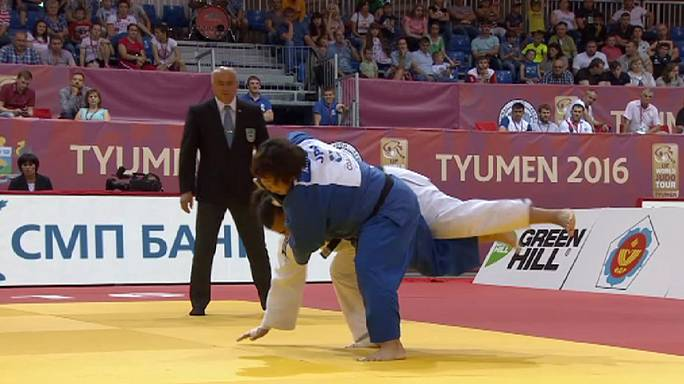 Tyumen'de madalyaları Rus ve Japon sporcular paylaştı