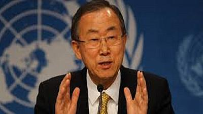 UN chief holds talks with Kenyan President over South Sudan conflict