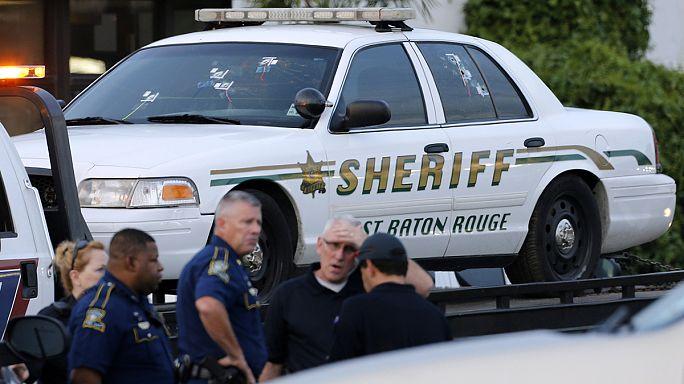 جندي سابق في الجيش الامريكي يقتل 3 شرطيين في اطلاق نار بولاية لويزيانا