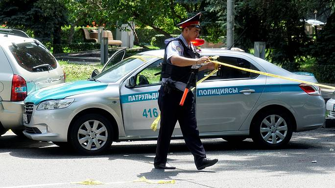 Казахстан. В Алма-Ате злоумышленники атаковали полицейский участок. Есть жертвы