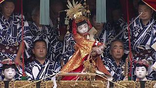 جشنواره ماتسوری در کیوتوی ژاپن