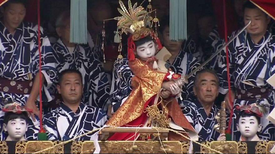 Das Matsuri-Festival in Kyōto