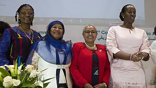 [Photos] African first ladies on the sidelines of the AU Summit
