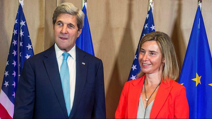 Anche il segretario di Stato Usa Kerry a Bruxelles per il Consiglio degli Esteri