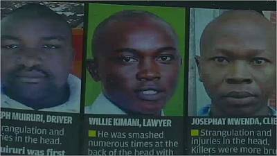 Kenyan police charged with murder over human rights lawyer's death