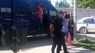 Αλεξανδρούπολη: Τριήμερη αναβολή της αυτόφωρης διαδικασίας για τους 8 Τούρκους στρατιωτικούς