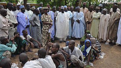 Nigeria: 249 membres présumés de Boko Haram libérés