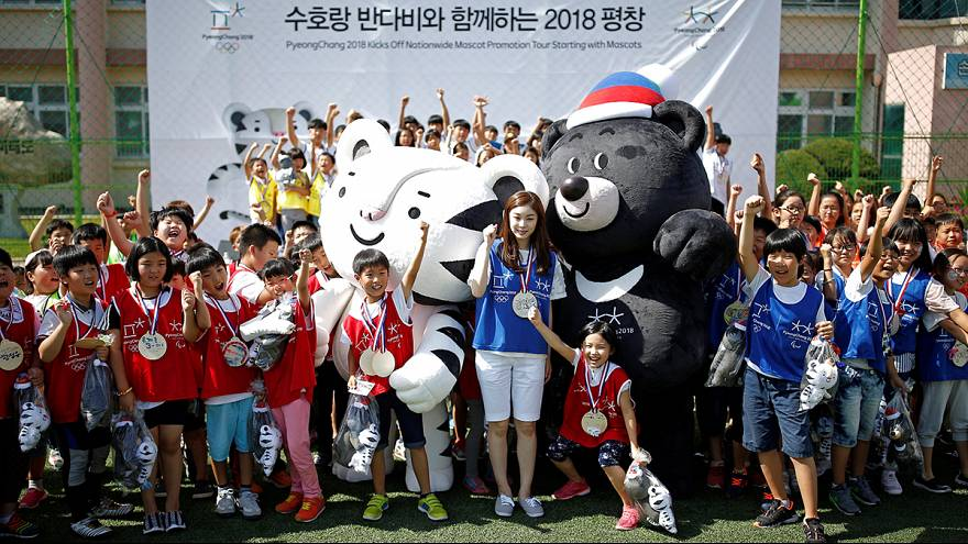 لجنة دورة الألعاب الأولمبية الشتوية ل2018 تكشف عن تميمتي الألعاب