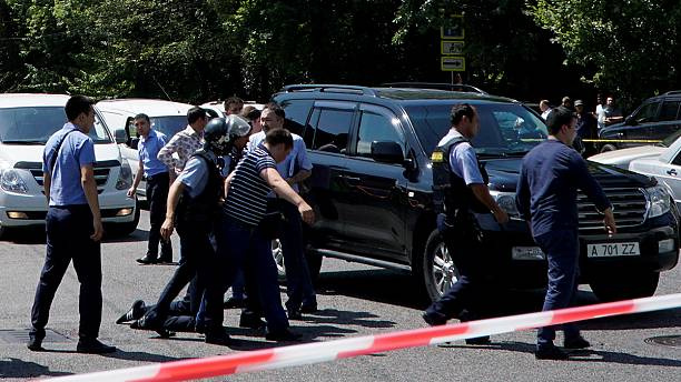 Four killed in Almaty 'terrorist' shootout