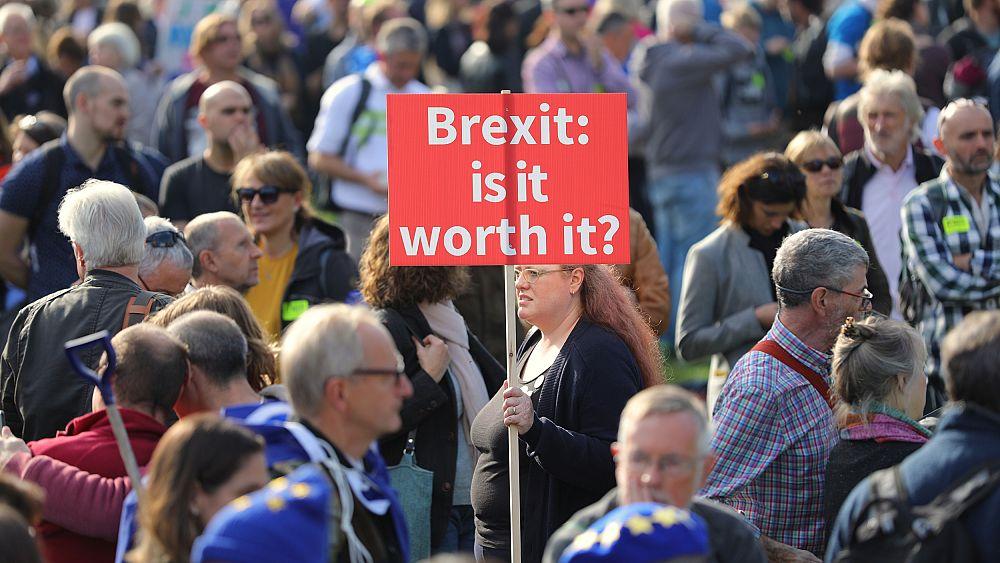 В Лондоне прошла массовая акция за повторный референдум по «Брекзит»