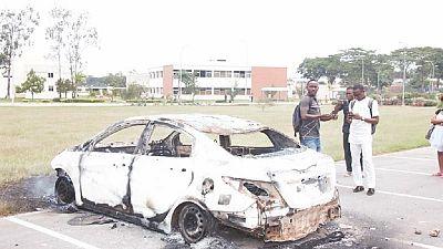 Côte d'Ivoire: affrontement entre policiers et étudiants sur le campus