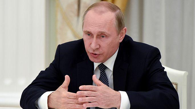 Politikai támadásnak tartja a doppingügyet Putyin