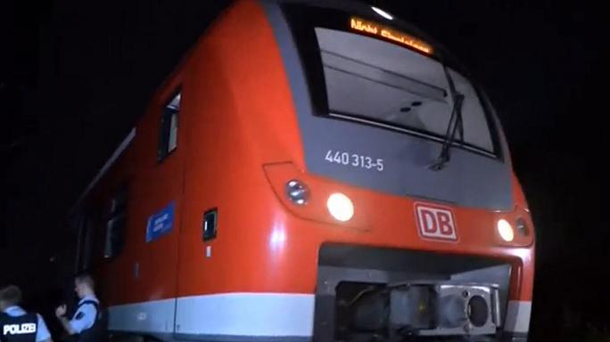 Afghan youth attacks German train passengers with axe