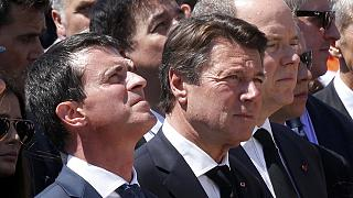 French leaders jeered during tribute to Nice victims