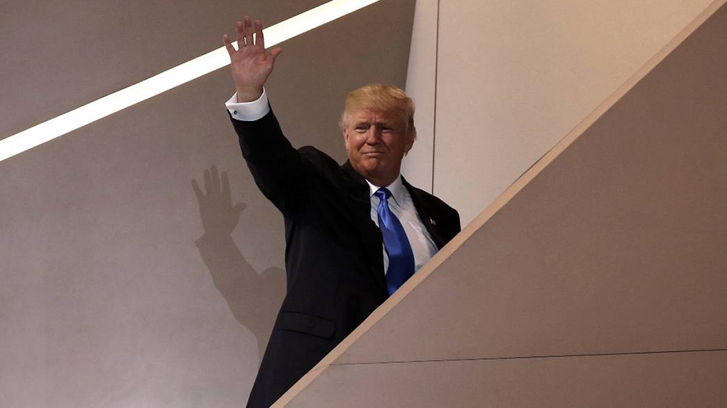 Съезд республиканцев США выбирает своего кандидата в президенты