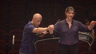 استونی؛ کلاسهای رهبری ارکستر در فرهنگستان هنر «یروی»