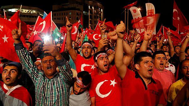 Erdogan defies EU on death penalty: 'If Turkey's parliament backs it, I will'