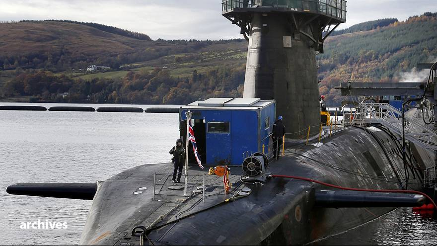 El parlamento británico aprueba la renovación de los submarinos nucleares