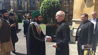 [Photos] Archbishop of Canterbury hosts top Pakistani cleric