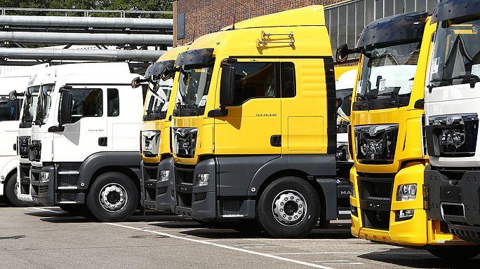 Amende record de la Commission contre un cartel de camions