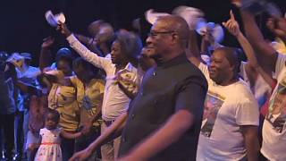 Sao Tome celebrates new president Evaristo Carvalho