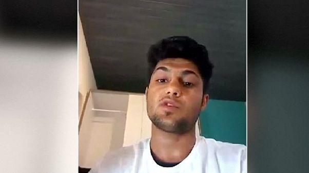 """Mohamed Riad, un joven """"equilibrado"""" que grabó un vídeo con amenazas de degollar a infieles"""