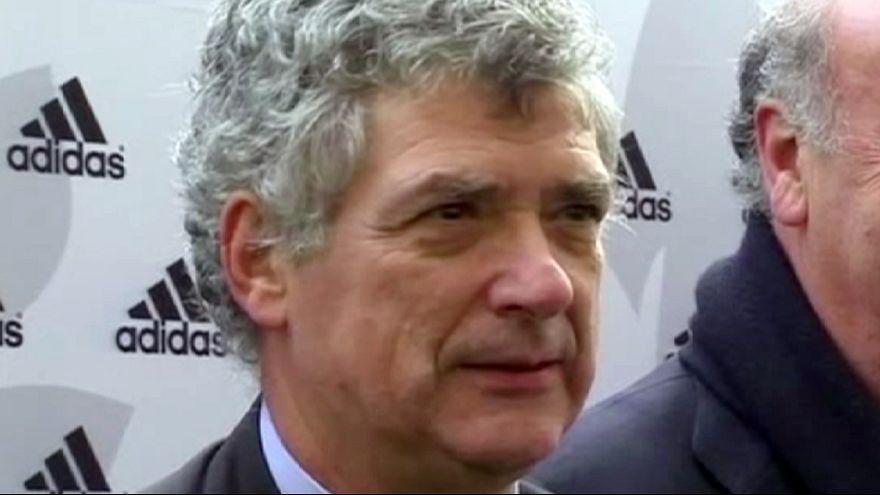 Angel Maria Villar bids to become the next UEFA president.