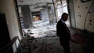 Turquia: Imagens do bombardeamento da Grande Assembleia Nacional