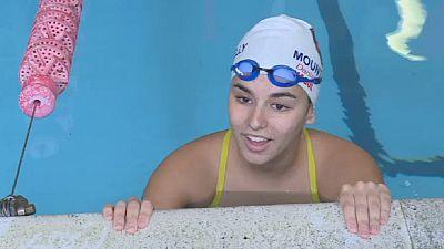 Rio 2016 : Daniah la nageuse libyenne se prépare pour les jeux