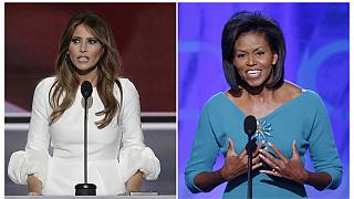Мелания Трамп похвалила мужа словами Мишель Обамы