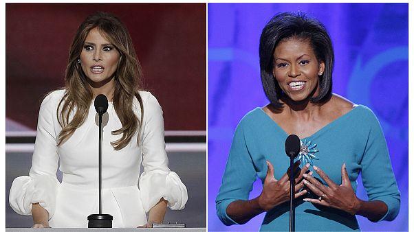 EUA: Republicanos esperam que erros como o de Melania não voltem a acontecer