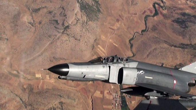 Las fuerzas aéreas turcas bombardean posiciones del PKK en el norte de Irak